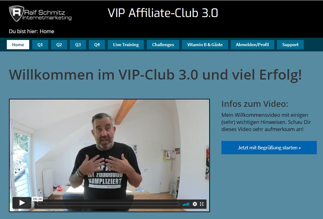 Online Business Kurs VIP Affiliate Club